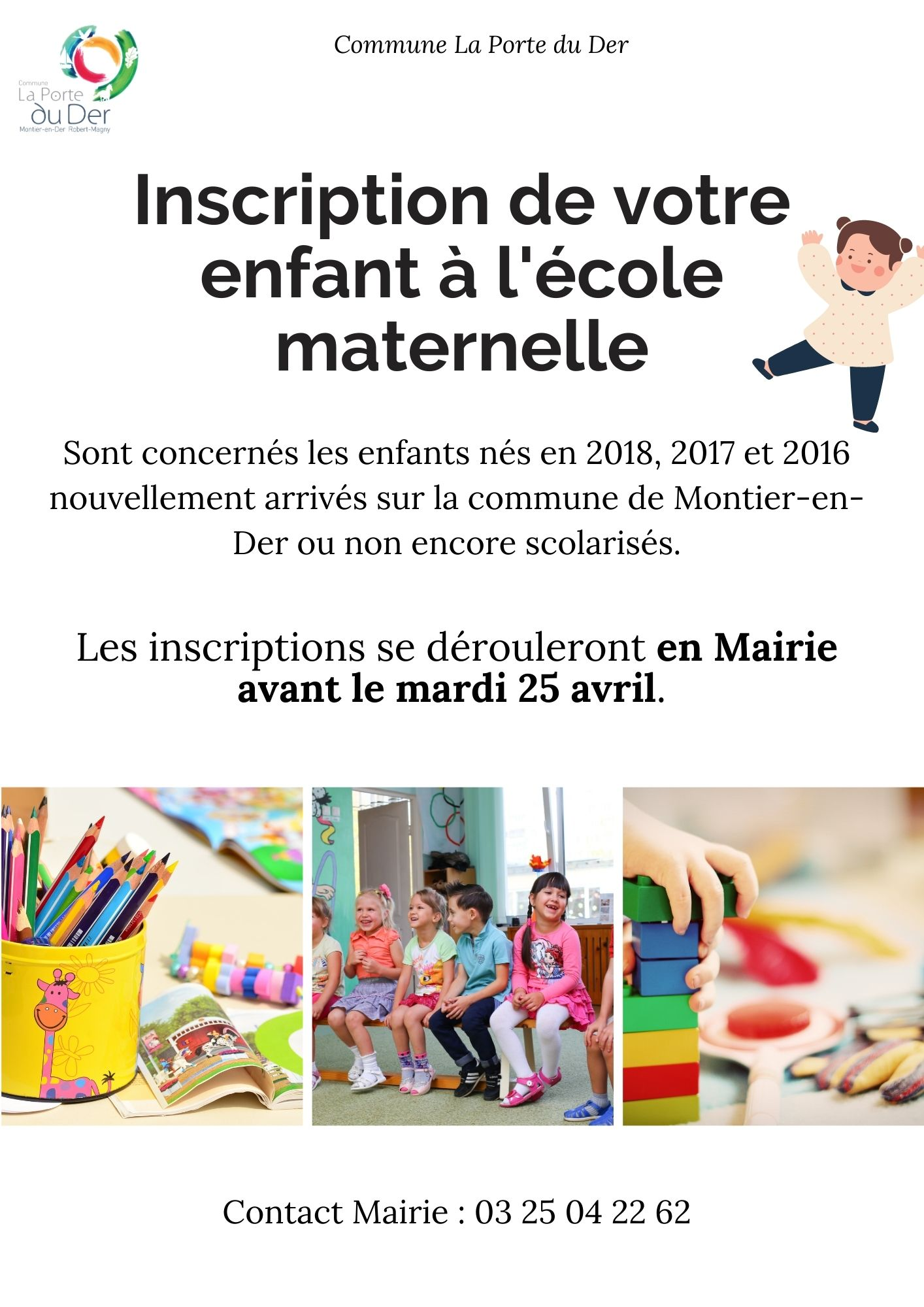 INSCRIPTION MATERNELLE